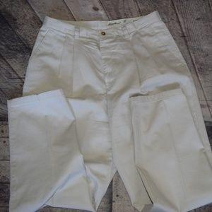 Eddie Bauer Women's 14P Petite Khaki Pants Slacks